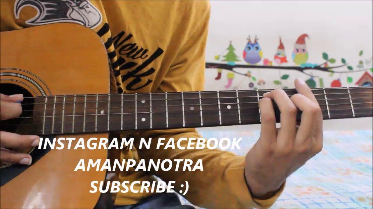 Socha Hai Baadshaho Hindi Guitar Cover Lesson Chords Easy