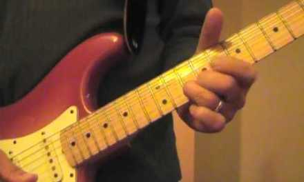 """How to play """"Holy is the Lord (key of G)"""" on electric guitar"""