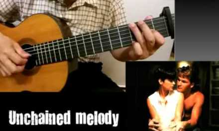 Unchained Melody – Classical Guitar – Played,Arr. NOH DONGHWAN
