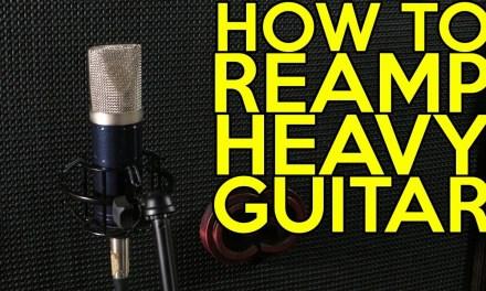 How to Reamp Heavy Guitar | SpectreSoundStudios TUTORIAL
