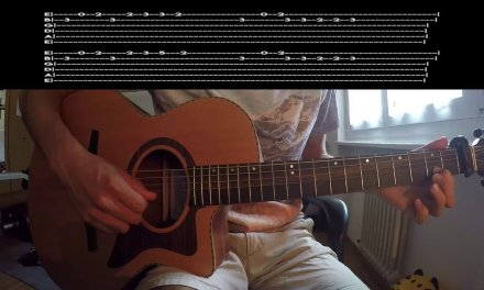 Avicii – Without You  Guitar lesson – INTRO