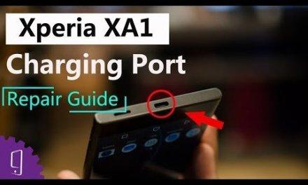 Sony Xperia XA1 Charging Port Repair Guide