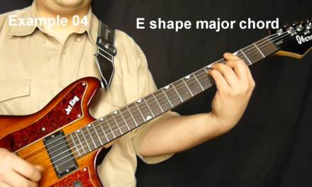 West African fingerstyle guitar lesson & TAB – example 04