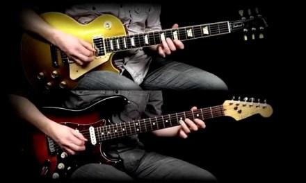 Hotel California guitar solo (cover) – Sean Boothe