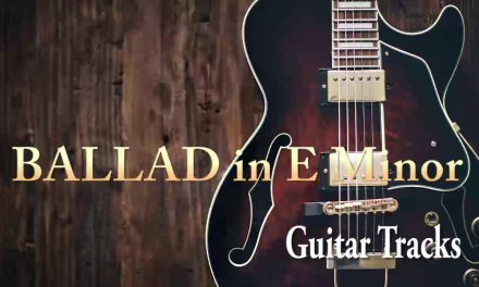 BALLAD Backing Track in E Minor (Guitar Tracks)