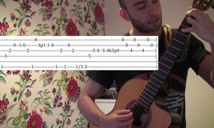 Learn A Dark Classical Guitar Intro – Guitar Lesson – WITH TABS