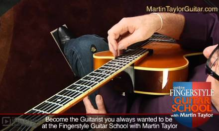 Fingerstyle Guitar Lessons with Martin Taylor: Using Harmonics
