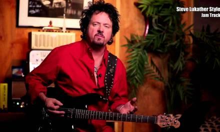 Steve Lukather Style / Key: Em (Jam Track)