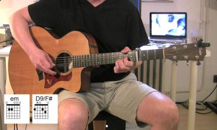 Shadow Of The Day – Acoustic Guitar – chords, Tutorial – Linkin Park