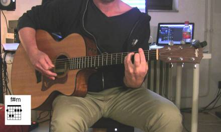 """""""Numb"""", Acoustic Guitar with original vocals, How to play, Linkin Park"""