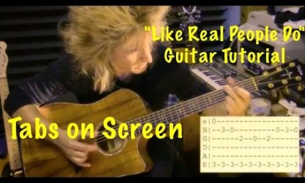 """LIKE REAL PEOPLE DO"" HOZIER – Acoustic Guitar Tutorial (Part 1) W/TABS!"