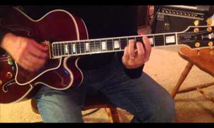 Jazz Guitar Ending #1