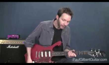 Rock Guitar Lessons with Paul Gilbert: E Minor Lick