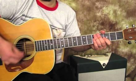Easy Guitar Lessons on Acoustic – Joe Cocker – Feeling Alright
