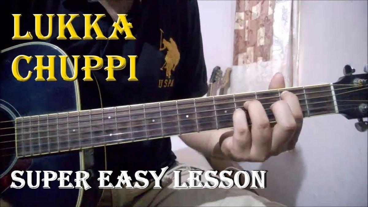 Lukka Chuppi Ar Rahman Easy Guitar Chords Lesson For Beginners