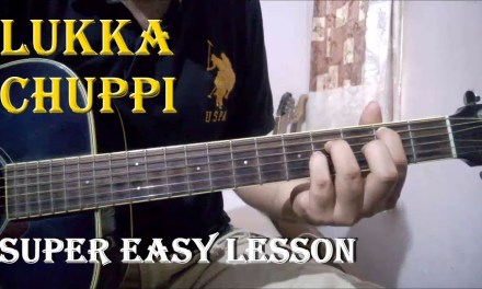 Lukka Chuppi – A.R Rahman | Easy Guitar Chords Lesson For Beginners