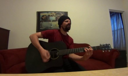 Nathaniel Rateliff & The Night Sweats (I Need Never Get Old) acoustic cover by Joel Goguen