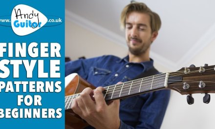 Fingerstyle Guitar – Pattern 2 Inside Out with Travis Picking