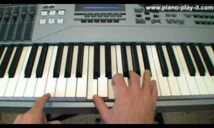 Piano Blues Chords – A Free Piano Lesson (12 Bar Blues)