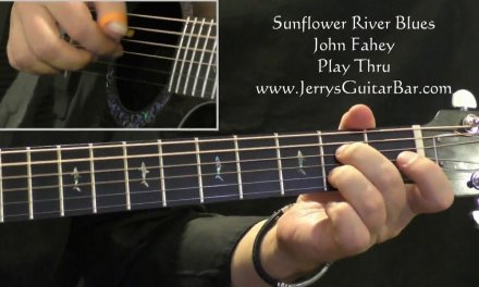 Cover of John Fahey's Sunflower River Blues