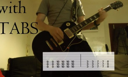 Three Days Grace – Animal I have become Guitar Cover w/Tabs on screen