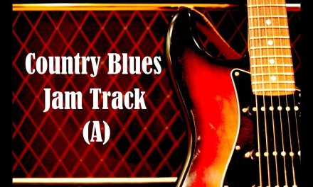 Country Blues Backing Track (A)