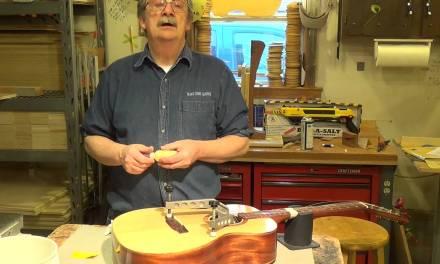 Blues Creek Guitars – How to Repair a Lifting Bridge