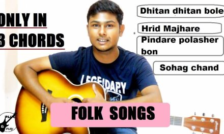 4 most popular FOLK songs ONLY in 3 CHORDS-HOW TO PLAY-Easy Guitar Lesson