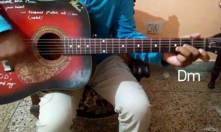 """MEET"" song of Movie ""SIMRAN"" Easy Guitar Lesson/Tutorials/Guitar chords/Arijit Singh"