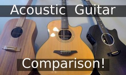 Carbon Fiber vs Wood vs HPL – Guitar Blind Test Challenge!