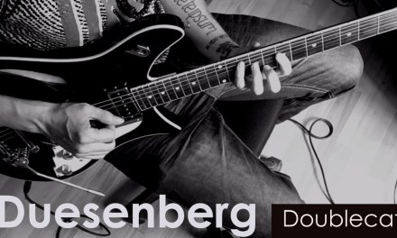 Duesenberg Double Cat – Coldplay – Viva la vida guitar loop