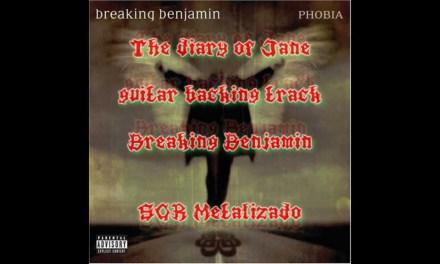 Breaking Benjamin – The diary of Jane (Guitar Backing Track / Pista Para Guitarra)