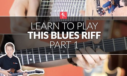 Learn To Play This Blues Riff (Part 1) – Intermediate Lead Guitar Lesson