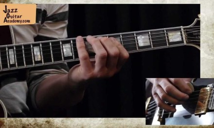 Lesson: Triad Combinations  – by Michael Sagmeister on JazzGuitarAcademy