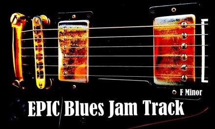 Slow Blues Backing Track // F Minor