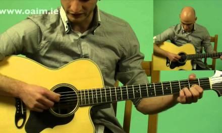 Beginner Irish Guitar Accompaniment Free Lesson 1 of 3: Intro + Tuning + How to Hold | OAIM.IE
