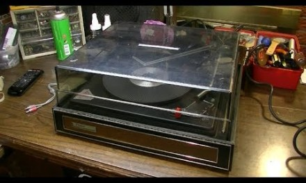 $2 Vintage Yard Sale Turntable – Can We Fix It?