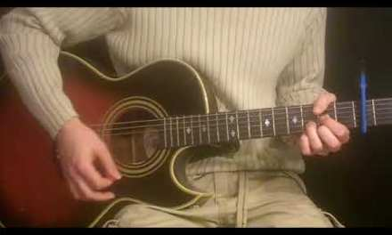 HOW TO PLAY FREE FALLIN  BY TOM PETTY  – ACOUSTIC GUITAR LESSON  – CHORDS  – STRUMS –  RHYTHM