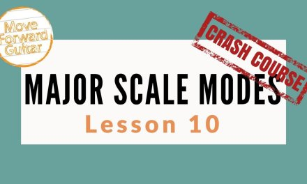 Guitar Major Scale Modes | Sounds Of The Modes