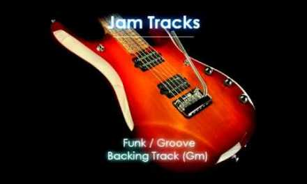 Dorian Funk/Groove Backing Track (Gm) – TheGuitarLab.net –