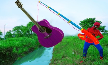 Go To Fishing Colors With GUITAR Learn Colors Surprise Toys For Kids JOKER GUNS BABY Children