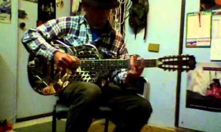 Old Country Blues Slide – Played on 12 String National Tricone Guitar