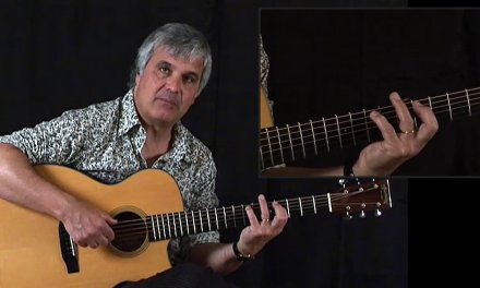Learn guitar DADGAD tuning & theory with Laurence Juber