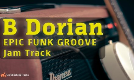 30 minute Super Funky Groove Backing Track (B Dorian)