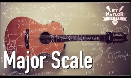 Major Scale Guitar Lesson – Guitar Music Theory Scales