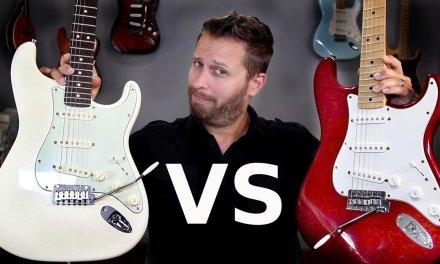 MEXICAN STRAT vs AMERICAN STRAT – Guitar Tone Comparison!