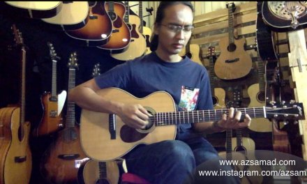 Collings O2H | The Guitar Lair | Body and Soul (Fingerstyle Jazz Guitar by Az Samad)
