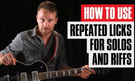 Learn Repeated Blues Licks and Turn One Note Into a Million | Beginner Guitar Lesson | Guitar Tricks