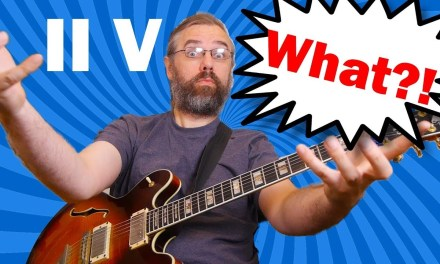 II V What!? – How not to resolve a II V I on purpose – Jazz Guitar Lesson