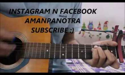 Tere Mere – Chef – Armaan Malik – Guitar Cover Lesson Chords – Saif Ali khan